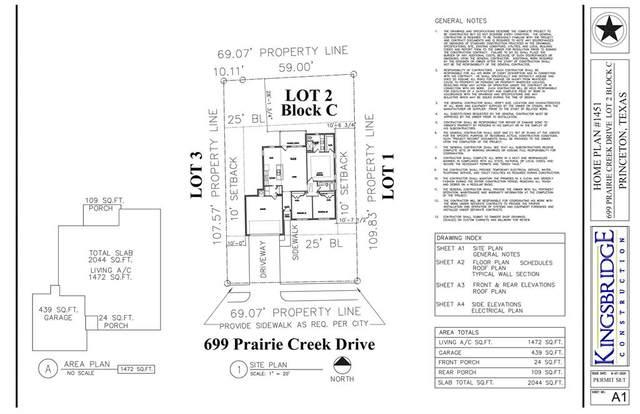 699 Prairie Creek, Princeton, TX 75407 (MLS #14409814) :: The Heyl Group at Keller Williams