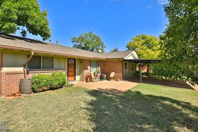 302 N La Salle Drive, Abilene, TX 79603 (MLS #14410381) :: Frankie Arthur Real Estate