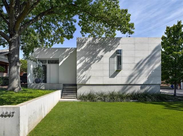 4347 Avondale Avenue, Dallas, TX 75219 (MLS #14410409) :: The Hornburg Real Estate Group