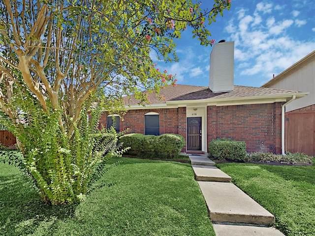 4338 Harvest Hill Road, Carrollton, TX 75010 (MLS #14410948) :: Tenesha Lusk Realty Group