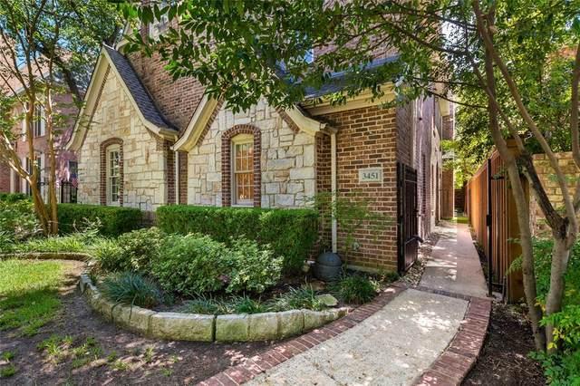 3451 Shenandoah Street, University Park, TX 75205 (MLS #14411039) :: The Kimberly Davis Group