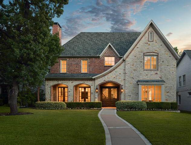 7502 Marquette Street, Dallas, TX 75225 (MLS #14411057) :: North Texas Team | RE/MAX Lifestyle Property