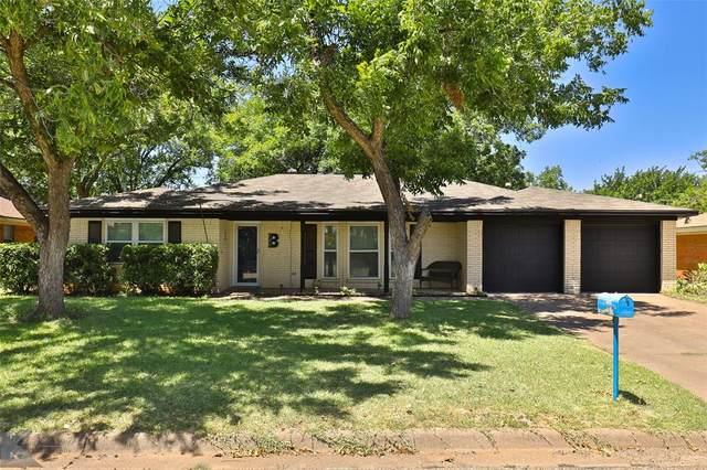 1834 Delwood Drive, Abilene, TX 79603 (MLS #14411133) :: Century 21 Judge Fite Company