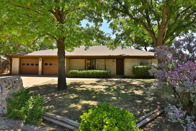 2301 Gilmer Avenue, Abilene, TX 79606 (MLS #14411264) :: Century 21 Judge Fite Company