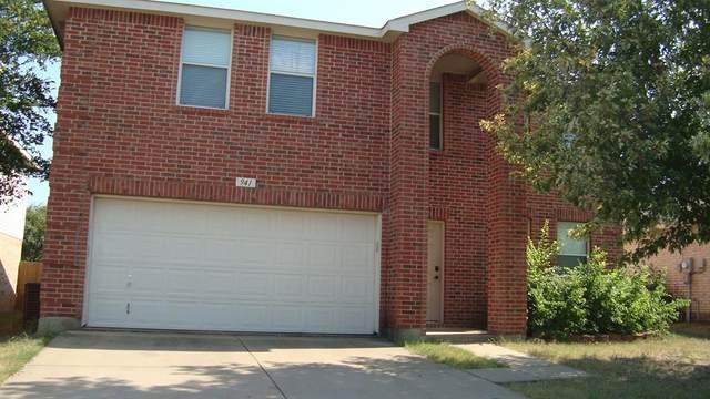 941 Stone Chapel Way, Fort Worth, TX 76179 (MLS #14411319) :: The Heyl Group at Keller Williams