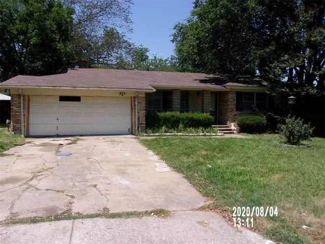 3609 Sheridon Drive, North Richland Hills, TX 76117 (MLS #14411340) :: EXIT Realty Elite
