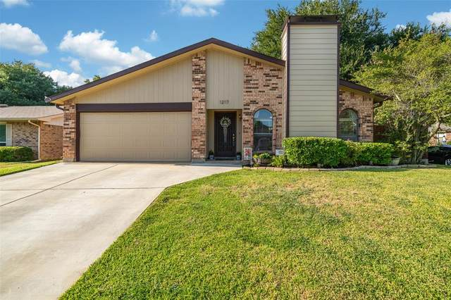 1217 Tranquilla Terrace, Bedford, TX 76021 (MLS #14411833) :: The Heyl Group at Keller Williams