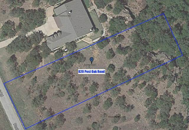 820 Post Oak Road, Gordon, TX 76453 (MLS #14411921) :: The Kimberly Davis Group