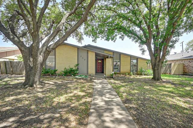 730 Pinoak Drive, Grand Prairie, TX 75052 (MLS #14412236) :: The Heyl Group at Keller Williams