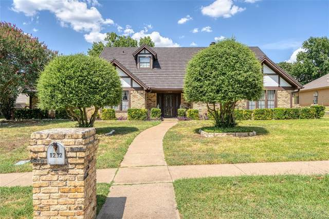 1202 Plantation Drive S, Colleyville, TX 76034 (MLS #14412239) :: The Heyl Group at Keller Williams