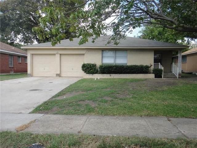 1427 Gillette Street, Dallas, TX 75217 (MLS #14412361) :: The Heyl Group at Keller Williams