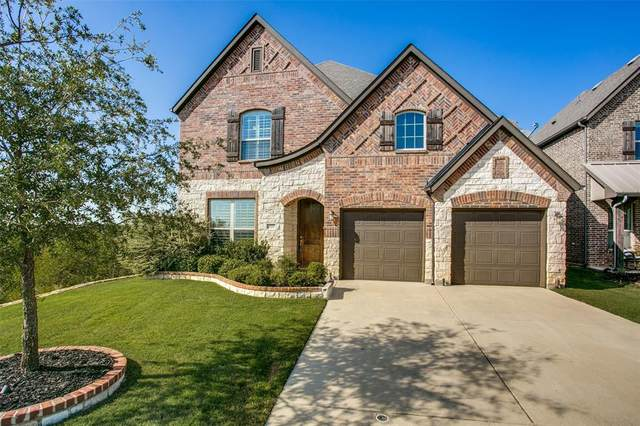4701 Crimson Bluffs Way, Fort Worth, TX 76262 (MLS #14412397) :: The Hornburg Real Estate Group