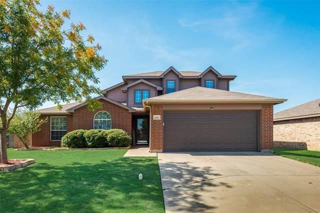 1610 Appaloosa Drive, Krum, TX 76249 (MLS #14412546) :: The Heyl Group at Keller Williams