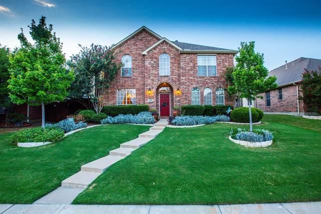 1738 Montura Lane, Frisco, TX 75033 (MLS #14412936) :: The Heyl Group at Keller Williams