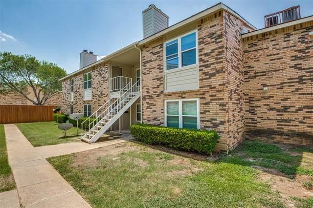 2200 E Trinity Mills Road #409, Carrollton, TX 75006 (MLS #14412987) :: The Heyl Group at Keller Williams