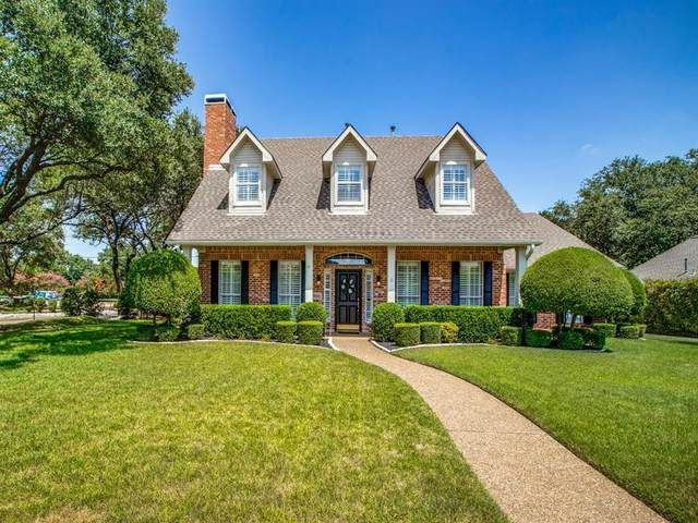 5821 Steeplechase Drive, Plano, TX 75093 (MLS #14413033) :: The Heyl Group at Keller Williams