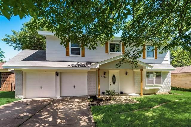 2305 E Mitchell Street, Arlington, TX 76010 (MLS #14413184) :: The Kimberly Davis Group