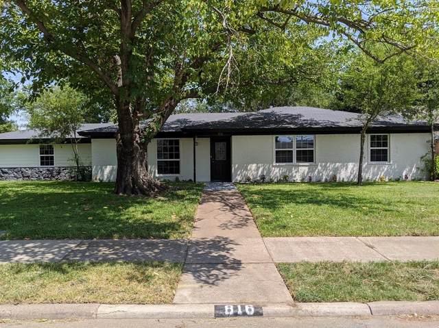 816 Dixon Drive, Irving, TX 75061 (MLS #14413535) :: The Heyl Group at Keller Williams