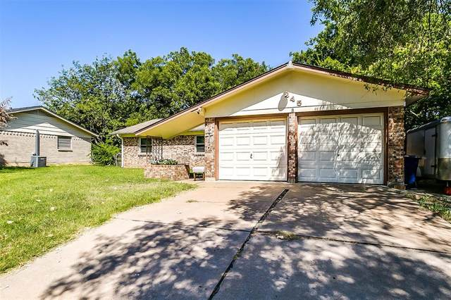 245 Craig Street, Burleson, TX 76028 (MLS #14413655) :: Century 21 Judge Fite Company