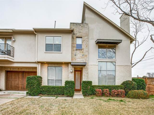 3703 Miles Street, Dallas, TX 75209 (MLS #14413862) :: Front Real Estate Co.