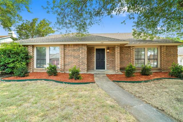 557 Freestone Drive, Allen, TX 75002 (MLS #14414154) :: Front Real Estate Co.