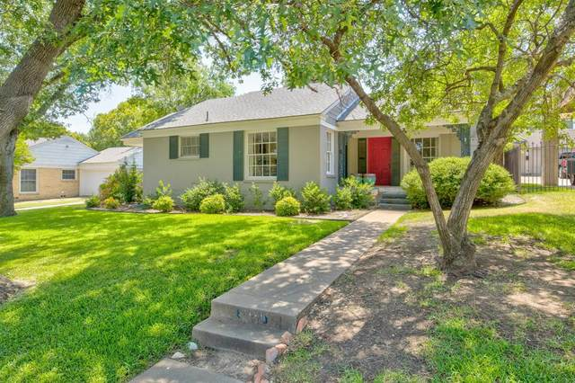 3121 W Biddison Street, Fort Worth, TX 76109 (MLS #14414732) :: Team Tiller