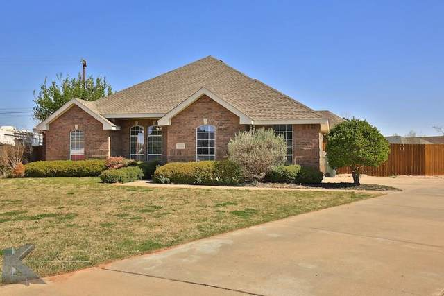 4010 Cougar Way, Abilene, TX 79606 (MLS #14414839) :: North Texas Team | RE/MAX Lifestyle Property