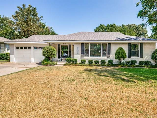 3812 Heywood Avenue, Fort Worth, TX 76109 (MLS #14415160) :: Front Real Estate Co.