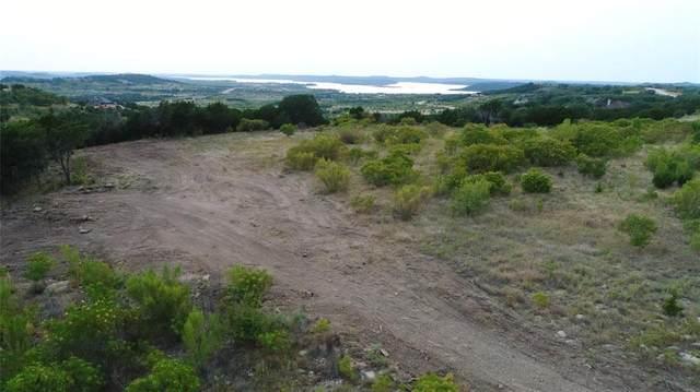 Lt 338 Shooting Star, Possum Kingdom Lake, TX 76449 (MLS #14415426) :: The Daniel Team