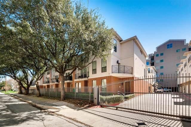 2606 Shelby Avenue #204, Dallas, TX 75219 (MLS #14416268) :: Trinity Premier Properties