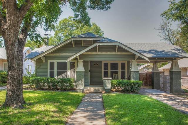 5308 El Campo Avenue, Fort Worth, TX 76107 (MLS #14417995) :: All Cities USA Realty