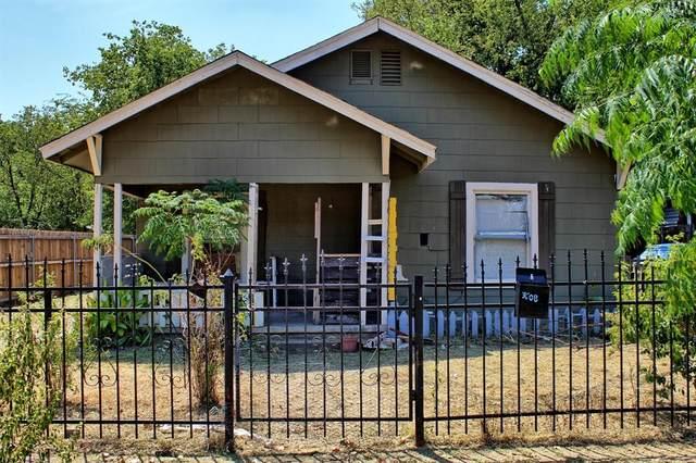 3608 Avenue J, Fort Worth, TX 76105 (MLS #14418610) :: The Daniel Team