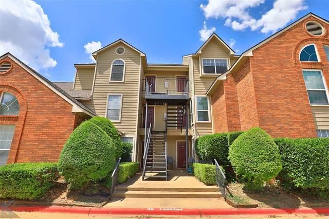 1318 Westheimer Road #215, Abilene, TX 79601 (MLS #14420199) :: Trinity Premier Properties