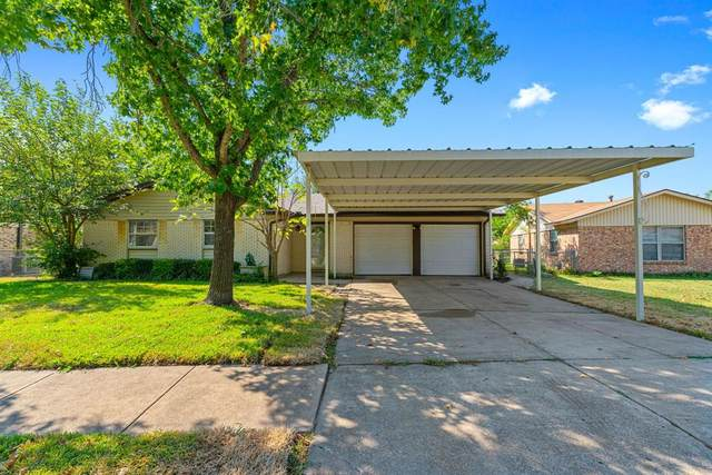 5820 Saramac Drive, Watauga, TX 76148 (MLS #14420538) :: Justin Bassett Realty