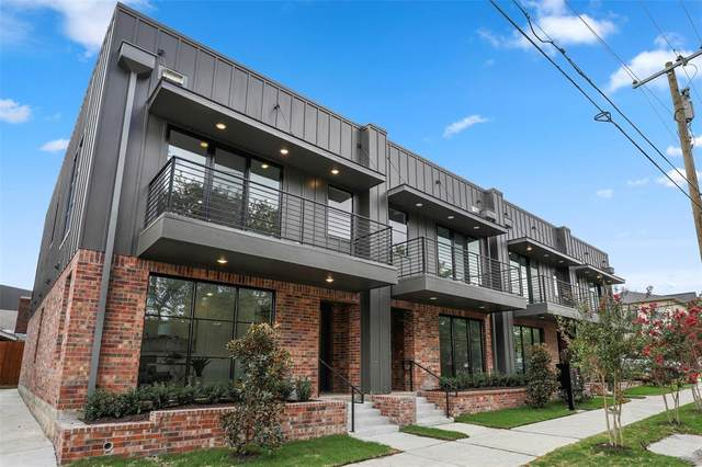 160 W Canty #203, Dallas, TX 75208 (MLS #14421725) :: The Hornburg Real Estate Group