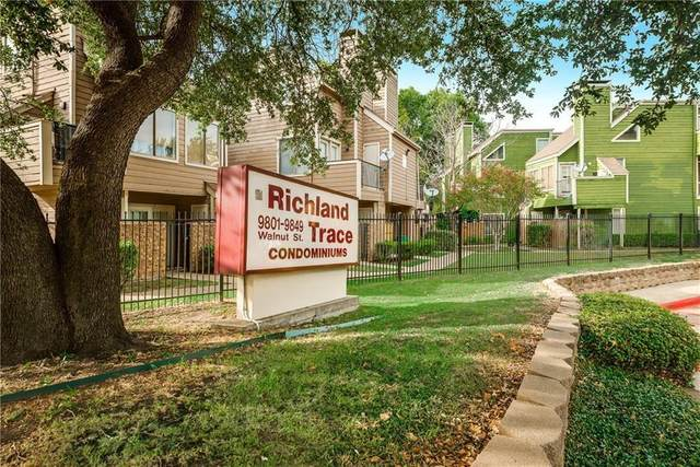 9831 Walnut Street #301, Dallas, TX 75243 (MLS #14421922) :: Frankie Arthur Real Estate