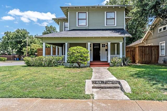202 S Edgefield Avenue, Dallas, TX 75208 (MLS #14423325) :: The Tierny Jordan Network