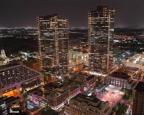 500 Throckmorton Street #3301, Fort Worth, TX 76102 (MLS #14423756) :: EXIT Realty Elite
