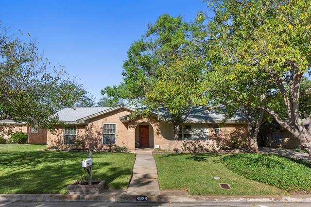 4028 Aragon Drive, Fort Worth, TX 76133 (MLS #14424143) :: The Hornburg Real Estate Group