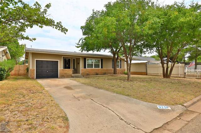 925 S Jefferson Drive, Abilene, TX 79605 (MLS #14424149) :: The Mitchell Group