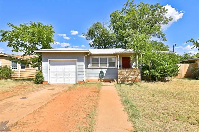 325 Hawthorne Street, Abilene, TX 79605 (MLS #14424203) :: The Mitchell Group