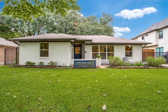 7226 Clemson Drive, Dallas, TX 75214 (MLS #14424596) :: RE/MAX Landmark