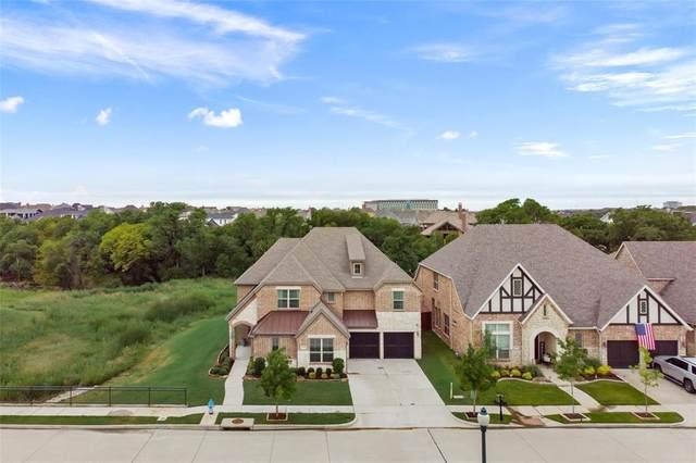 2320 Barton Creek Boulevard, The Colony, TX 75056 (MLS #14426295) :: The Kimberly Davis Group