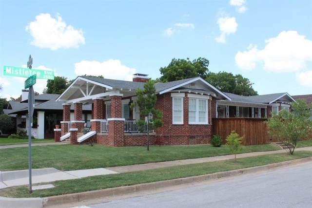 1145 Mistletoe Drive, Fort Worth, TX 76110 (MLS #14426401) :: The Daniel Team