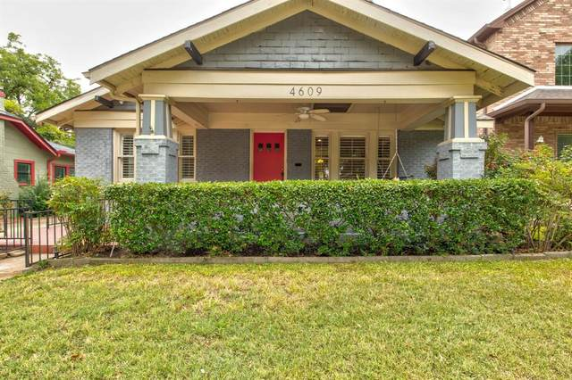 4609 El Campo Avenue, Fort Worth, TX 76107 (MLS #14427379) :: North Texas Team | RE/MAX Lifestyle Property