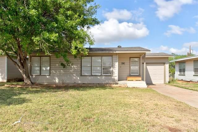 1042 S Crockett Drive, Abilene, TX 79605 (MLS #14427764) :: RE/MAX Landmark