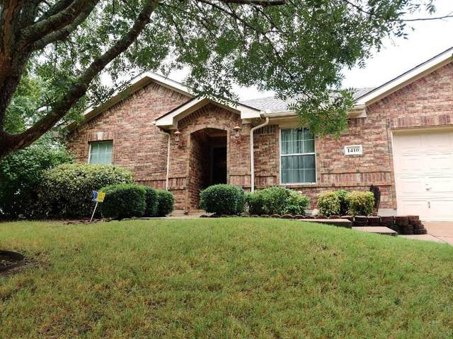 1410 Buckingham Drive, Forney, TX 75126 (MLS #14428096) :: Front Real Estate Co.