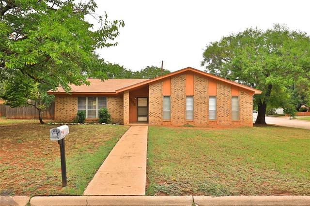 4702 Bob-O-Link Drive, Abilene, TX 79606 (MLS #14428794) :: The Mitchell Group