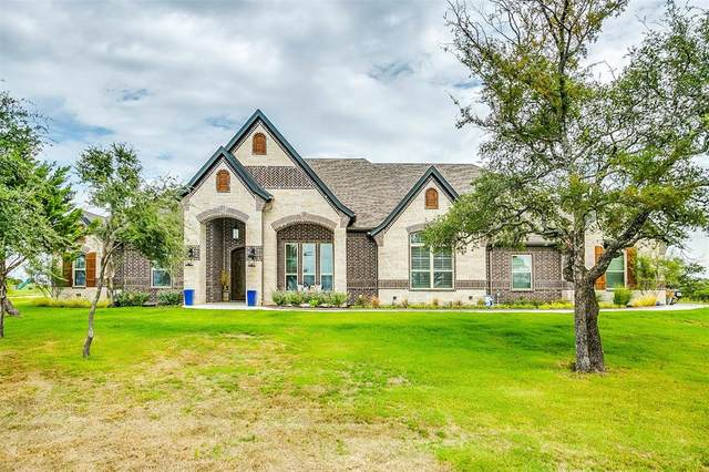 1081 Eagles Bluff Drive, Weatherford, TX 76087 (MLS #14429609) :: The Mauelshagen Group