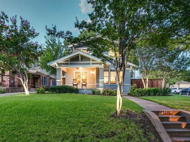 700 Huntley Street, Dallas, TX 75214 (MLS #14430542) :: Front Real Estate Co.